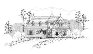 La Metarie 3 French Country House Plan