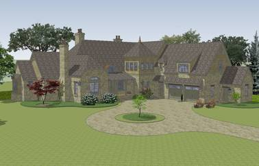 Bybrook English Cottage House Plan