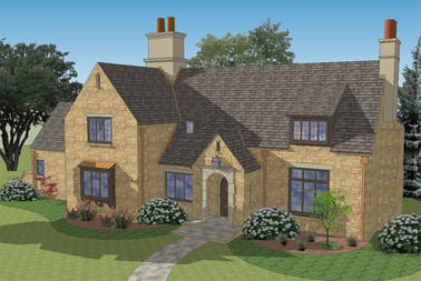 Campden English Cottage House Plan