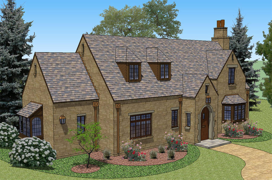 Cotswold style homes house design plans for English cottage style house plans