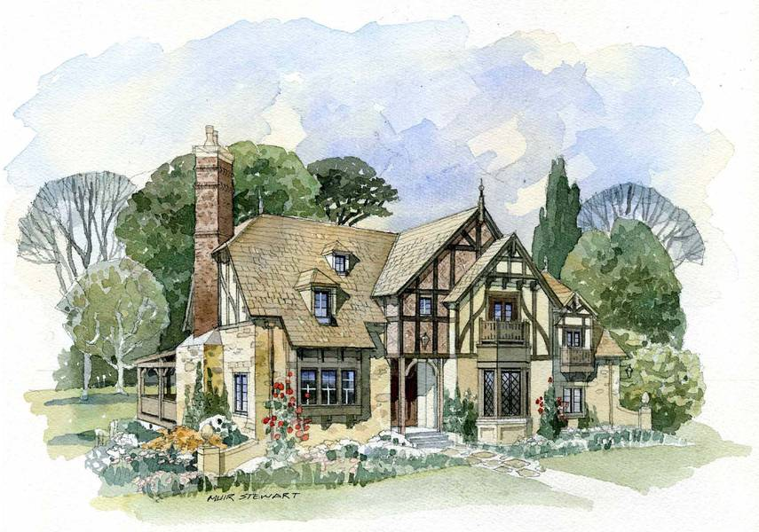 English cotswold house plans