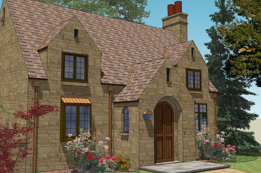 a cotswold home coming vine cottage build home cotswold
