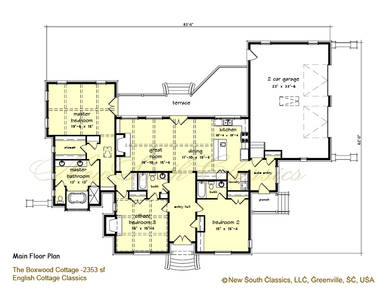 Boxwood Cottage English Cottage House Plan