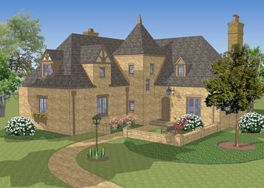 Old Rectory English Cottage House Plan