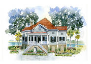 The Seabrook Charleston House Plan by New South Classics