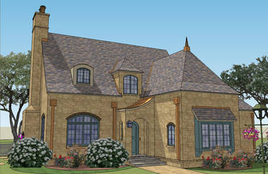 Le Nid French Country House Plan