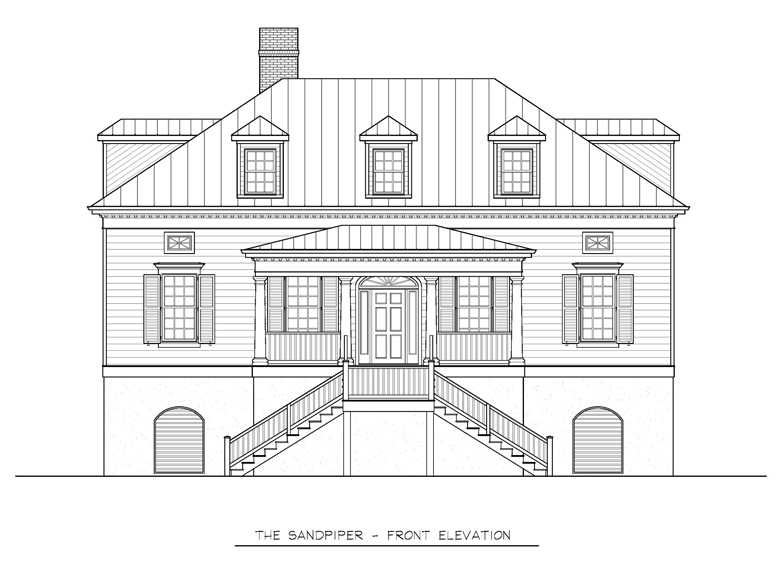 Outstanding low country architecture house plans gallery for Low country architecture